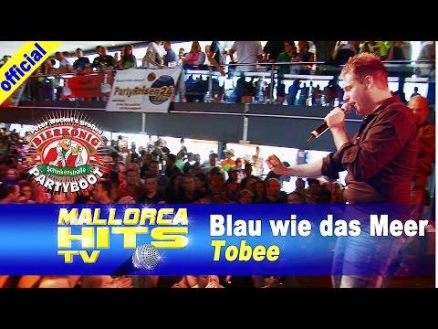 Tobee – Blau wie das Meer – Partyboot 2014, Köln