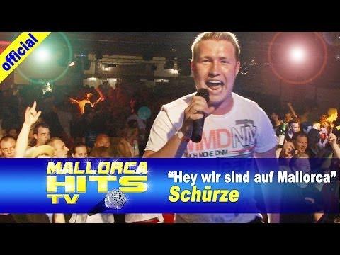 Schürze – Hey wir sind auf Mallorca – Mallorca Opening Party 2014