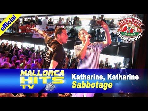 Sabbotage – Katharine Katharine – Bierkönig Partyboot 2014